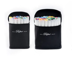 Набор цветных двусторонних маркеров MARCO RAFFINE