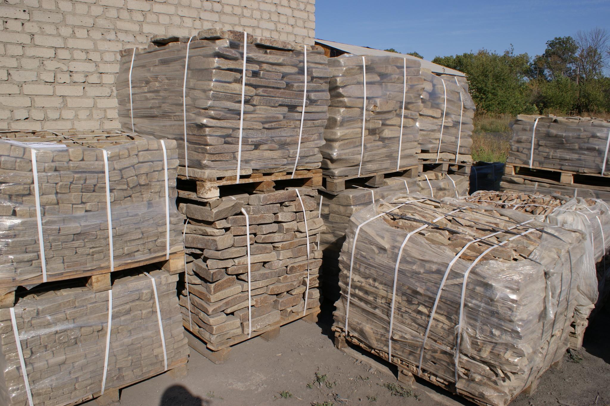 Набор Брусчатки песчаник галтованный Мини упакован