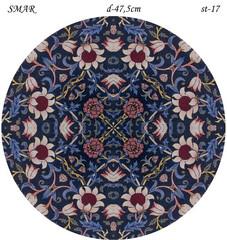 Эскиз для росписи, Круг диаметр-47,5см, SMAR-st-17