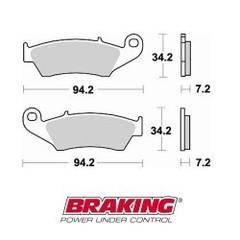 Колодки тормозные braking 772CM1