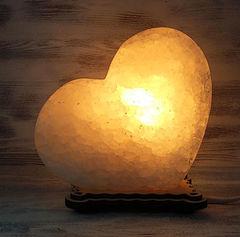 Солевая лампа Сердце 1,5-2 кг