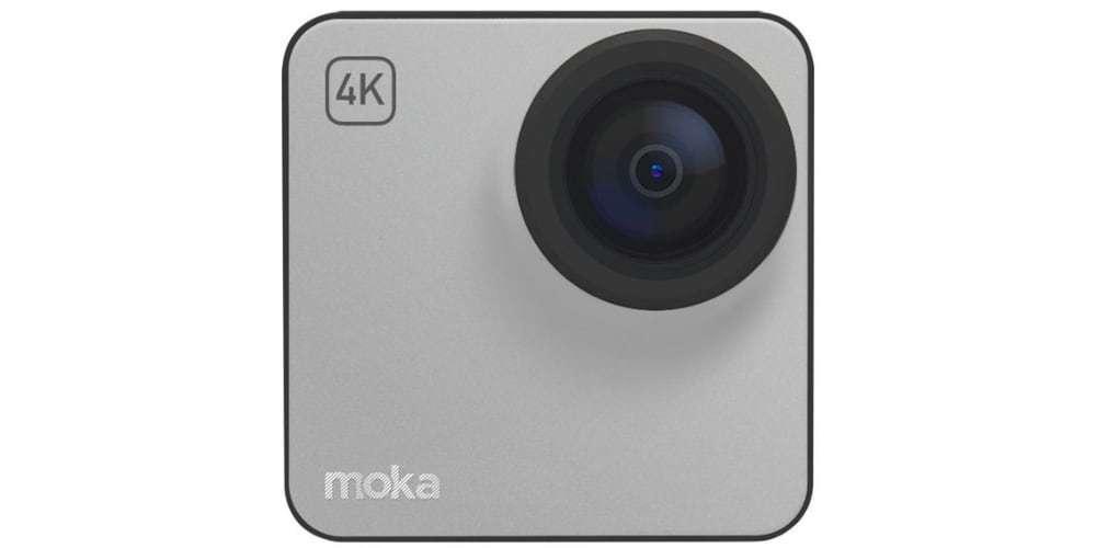Экшн-камера Mokacam 4K серая