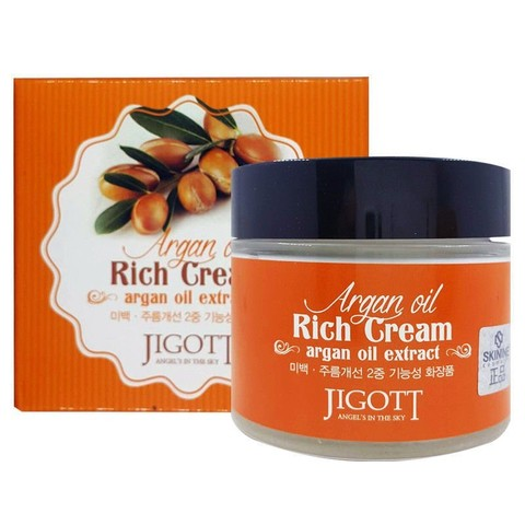 JIGOTT Крем для лица с аргановым маслом Argan Oil Rich Cream (70мл)