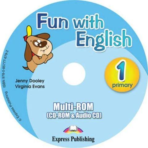 Fun with English 1. multi-ROM (CD-ROM & Audio CD ). Аудио CD/ CD-ROM