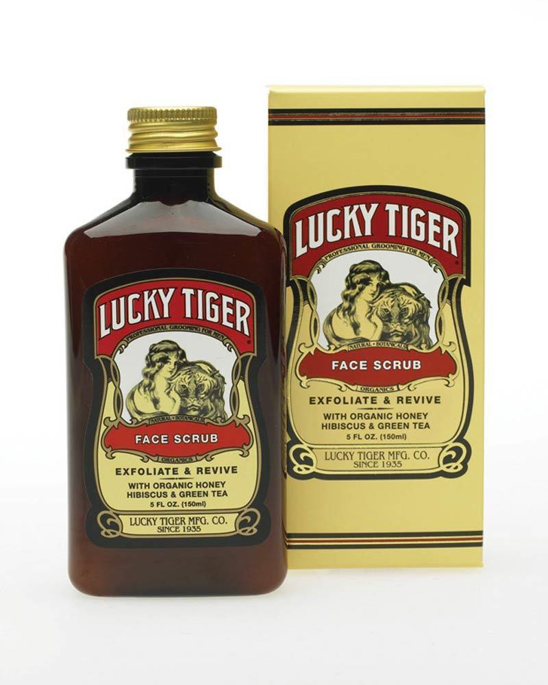 Скраб для лица Lucky Tiger