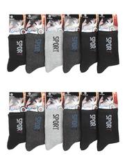 8901-3 носки мужские 41-47 (12шт), цветные