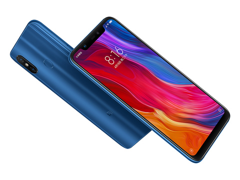 Смартфон Xiaomi Mi 8 6 / 256GB (синий)