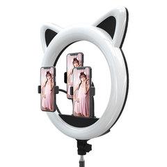 Кольцевая лампа для визажиста LED RING 408 CAT