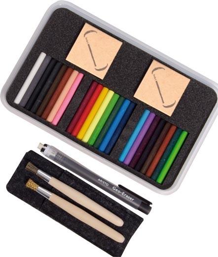 Мелки для рисования пальцами Seccorell 24