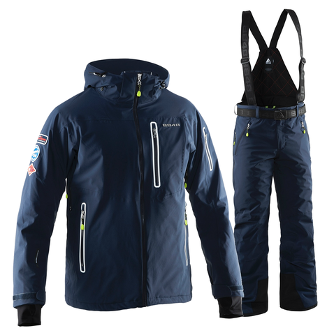 Мужской горнолыжный костюм 8848 Altitude Hinault/Venture (navy)