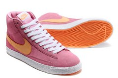 Кеды женские Nike Blazer Medium Pink Orange