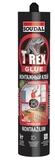 Монтажный клей Soudal T-REX (RED) 380 г (12шт/кор)