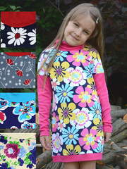317И платье детское, цветное