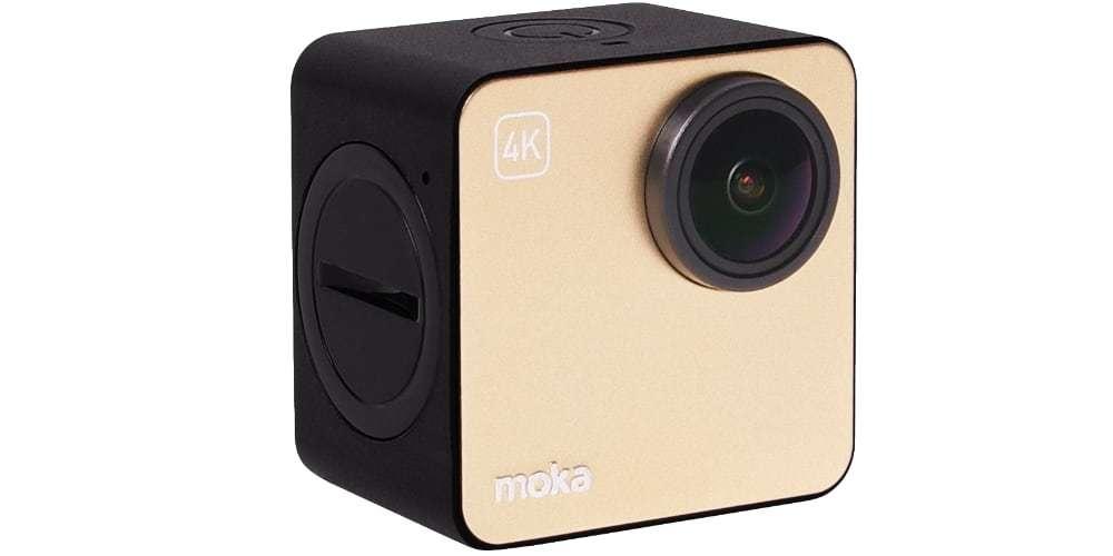 Экшн-камера Mokacam 4K вид сбоку