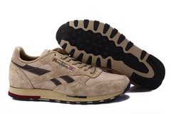 Reebok Classic Leather Utility (Cement/Brown/Canvas/Earth) (003)