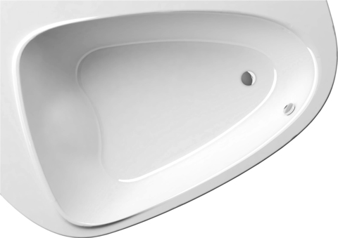 Акриловая ванна Ravak ROSA 150x105 L белая