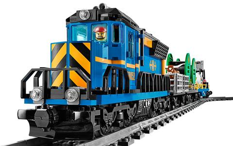 LEGO City: Грузовой поезд 60052 — Cargo Train — Лего Сити Город