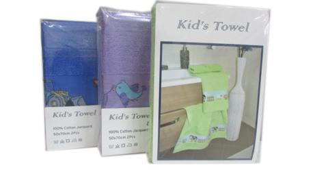 Набор полотенец для детей из 2х предметов KIDS TOWEL - КИДС НАБОР ПОЛОТЕНЕЦ . Maison Dor Турция .