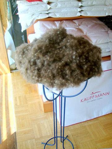 Одеяло пуховое 200х220 Kauffmann Пух Гаги Лиосилк