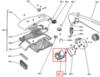 Электродвигатель (мотор) для стиральной машины Whirlpool (Вирпул) 481936178214
