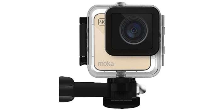 Экшн-камера Mokacam 4K в боксе