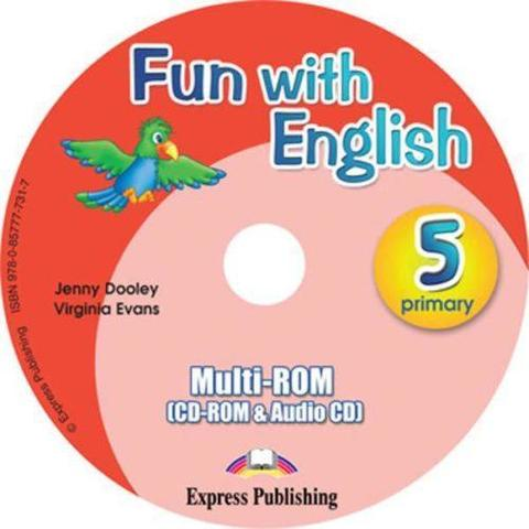 Fun with English 5. multi-ROM (CD-ROM & Audio CD ). Аудио CD/CD-ROM