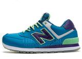 Кроссовки Женские New Balance 574 Sky Blue Lilac Green