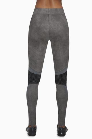 Легинсы для фитнеса 300 den темно-серые