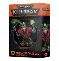 Kill Team: Ankra the Colossus Commander set