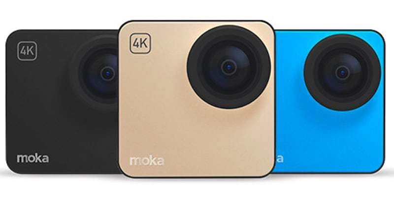 Экшн-камера Mokacam 4K три