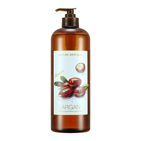 Шампунь NATURE REPUBLIC Argan Essential Deep Care Shampoo 1000ml