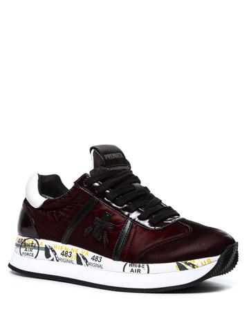 Комбинированные кроссовки Premiata Conny 4268 на шнуровке