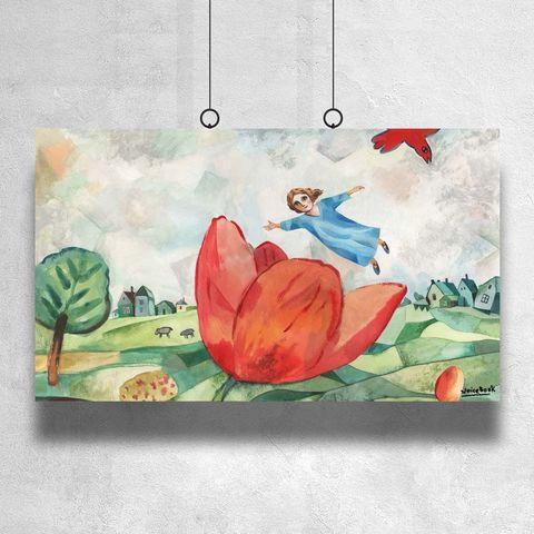 Картина «Дюймовочка» 90х140см