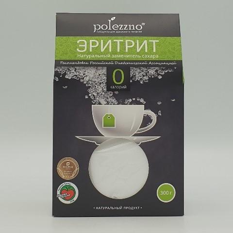 Эритрит заменитель сахара POLEZZNO, 300 гр