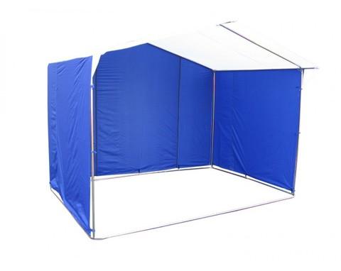 Торговая палатка Митек с логотипом «Домик» 4 х 3 К из квадратной трубы 20х20 мм