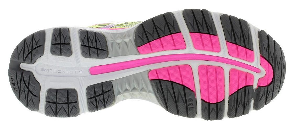 Женские кроссовки для бега Asics Gel-Nimbus 18 (T650N 9397) серые-розовые фото