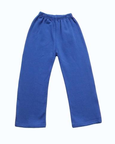 9221 Брюки для мальчика трикотажные синие