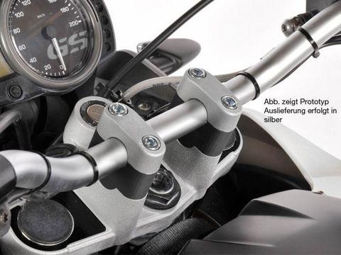 Проставки руля 25 мм BMW G650GS 2011-серебро