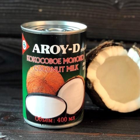 Фотография Кокосовое молоко Aroy-D 60%, 400 мл купить в магазине Афлора