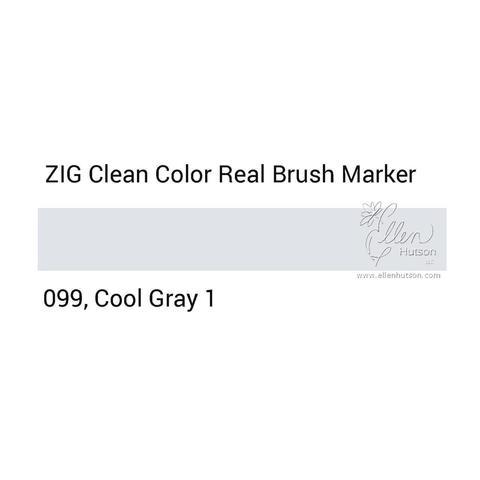 Маркер акварельный ZIG Clean Color Real Brush- штучно - 099