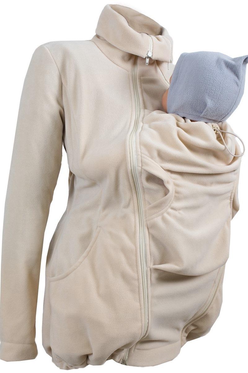 Куртка 00901 бежевый