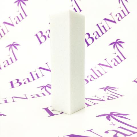 Бафик для натуральных ногтей белый, зернистость 240 грит