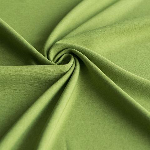 Ткань рогожка Джейн зеленый