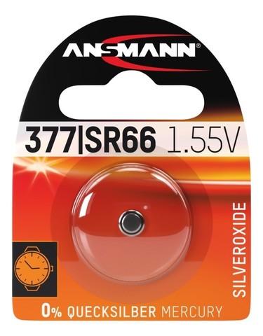 Батарейка Ansmann для часов 377 / SR66 / 1.55V