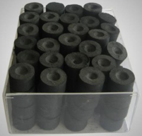Уголь кадильный 30 мм (100 шт)