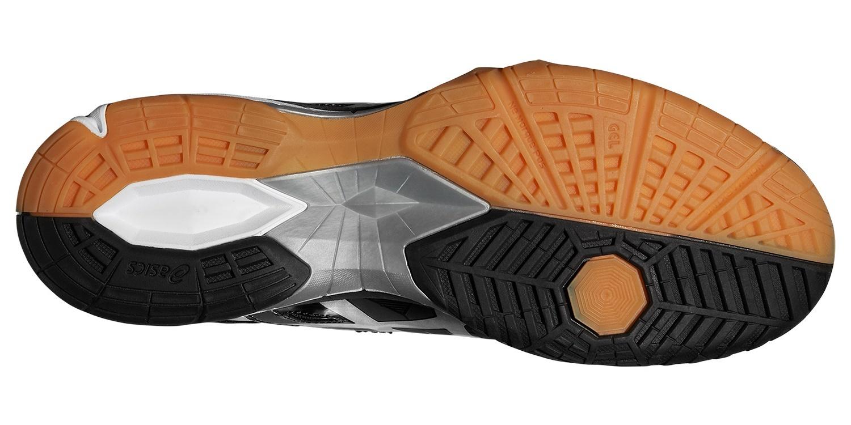 Мужские волейбольные кроссовки Asics Gel-Tactic (B504N 9099) черные фото