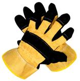 Перчатки спилковые комбинированные Ангара (р.10) (1 мешок - 144 пары/ упак 12 пар)