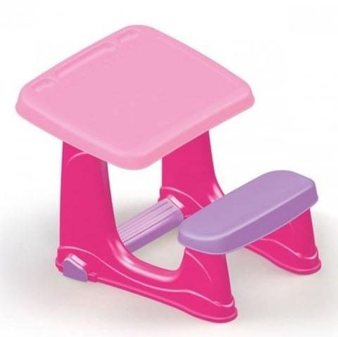 Набор мебели Dolu Парта со скамейкой розового цвета DL_7064