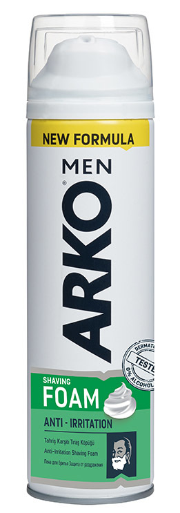Пена для бритья ARKO Men Anti-Irritation, 200 мл