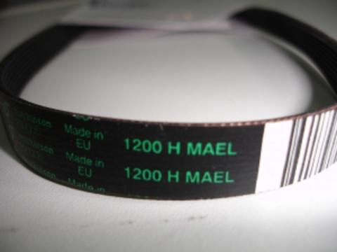 Ремень для стиральной машины Candy (Канди) 1200 H8 - 46000003 ОРИГИНАЛ, см. BLH304UN